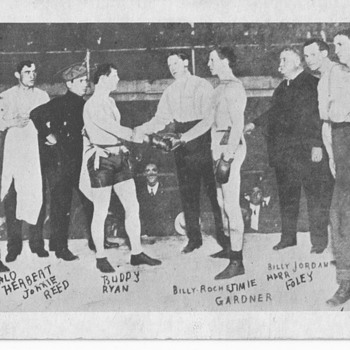 George Patrick Gardner 1st. Light Heavyweight Champion 1903 - Postcards