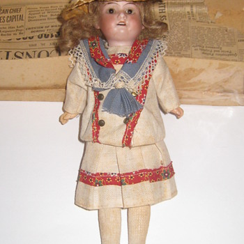 Antique Doll, Made In Germany, 10 inches