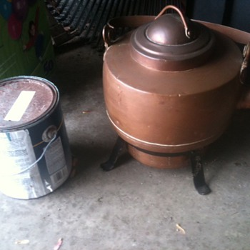 Mother-in-law's Huge Teakettle