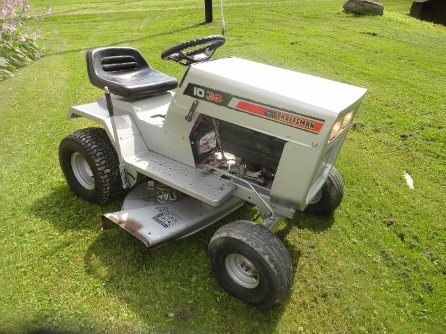 1974 Sears Garden Tractor : Sears craftsman lt riding mower collectors