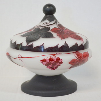 One of Loetz best cameo work - Art Glass