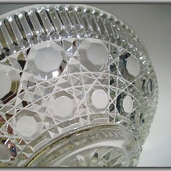 FEDERAL GLASS Bowl -- WINDSOR PATTERN