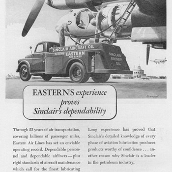 1951 - Sinclair Oil Co. Advertisement