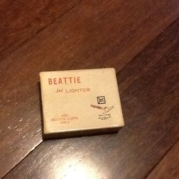Beattie jet lighter 40s/50s