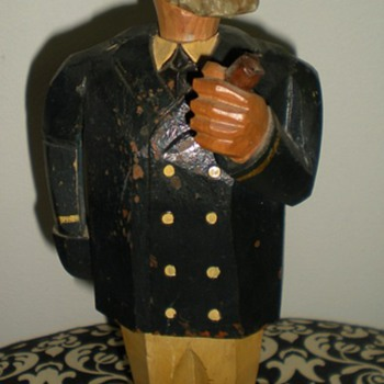Folk Art musical Wine Cork