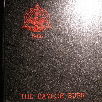 Baylor Yearbook of   Baylor University College of Dentistry - Books