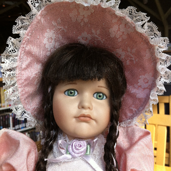 ??? Hello Dolly - Jordan Porcelain Doll ??? - (King City)