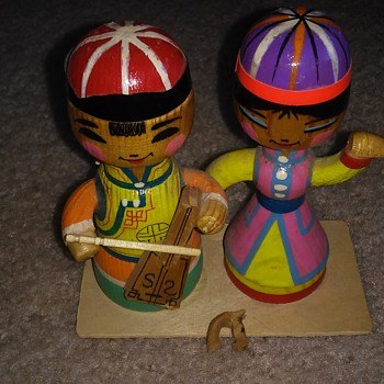 wood figurine  - Figurines