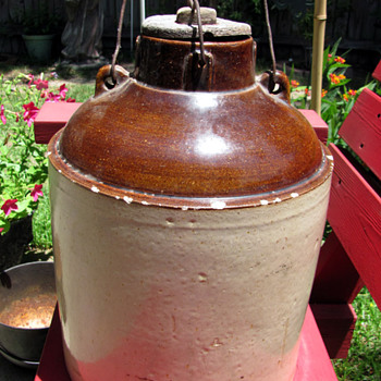 5 gallon crock for canning? - China and Dinnerware