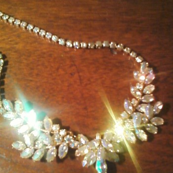 Sherman necklace with earrings set - Costume Jewelry