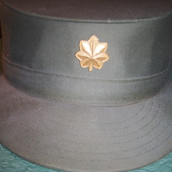 Military hat?