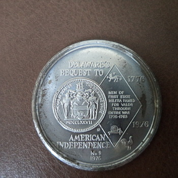 Medallion 1976  - American Independence Commemorative