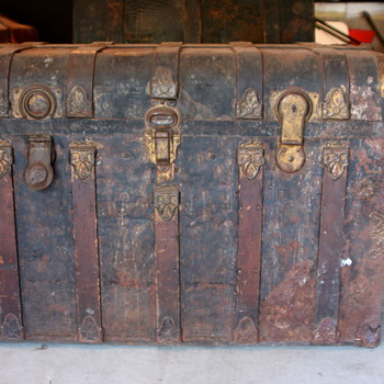 Metal Trunk Info Appreciated - Furniture