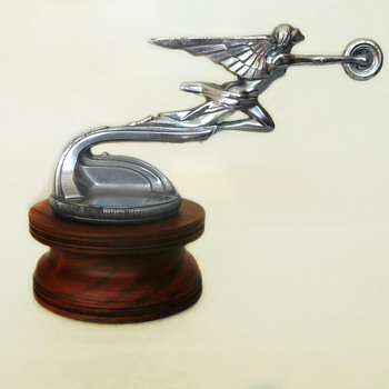 Packard Goddess of Speed, 1925 Art Deco, Deluxe Mascot