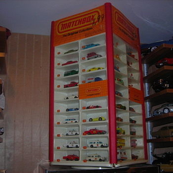Love the early 50's toys and original stores displays - Model Cars