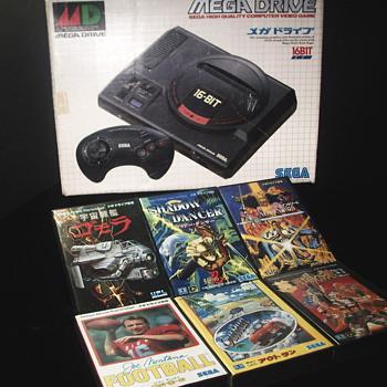 "Sega Japanese Mega Drive System""1988"