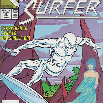 JUST FOR KICKS - COMICS - SILVER SURFER - Comic Books