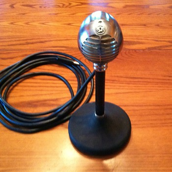 Vintage RCA microphone MI 6205, working condition.