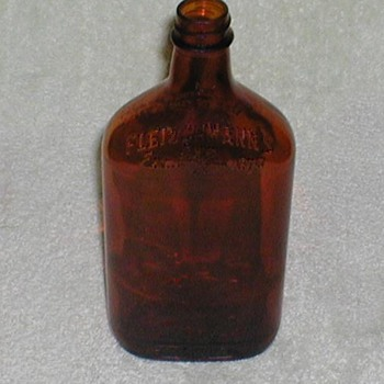 Fleischmann's Whiskey Bottle