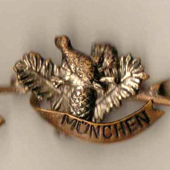 German Outdoorsman or Hunter's Hat Pin - Medals Pins and Badges