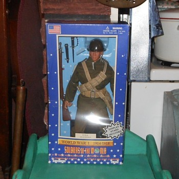Soldiers Of the World WWI U.S.A Infantryman - Toys