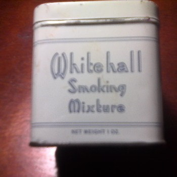 Whitehall Tobacco Tin