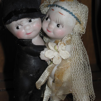 Wedding Topper - Kewpie?? - Dolls