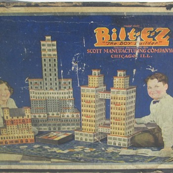 Scott Bilt-E-Z building set - Toys