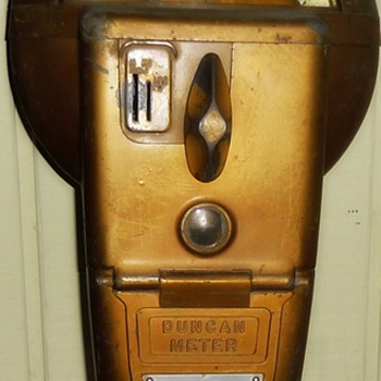 1950s Duncan Penny Parking Meter