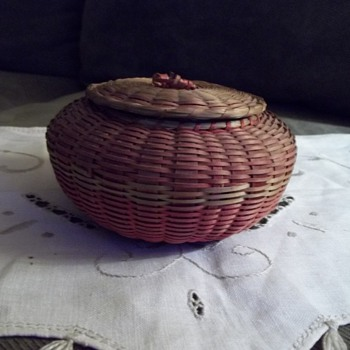 Native American Urchin Basket
