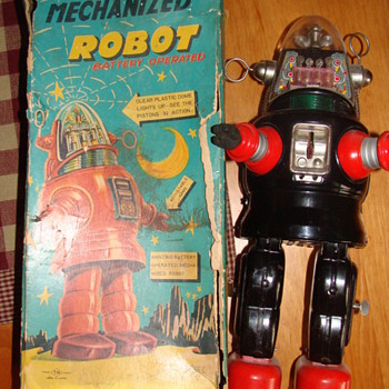 Mechanized Robot (1956??) Robby the Robot??? ~HELP!~ - Toys