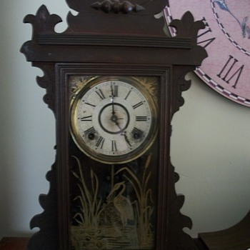 E. N. Welch mantel clock