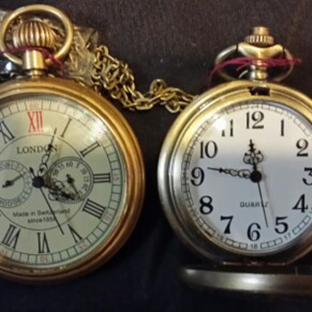 Wish they were Antique Pocket Watches