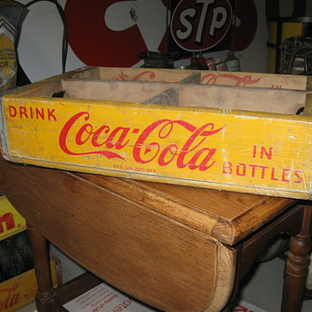 1950 COCA COLA case