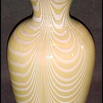 Imperial Lead Lustre Vase c. 1925 - Art Glass