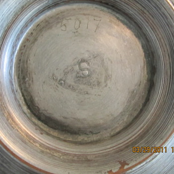 Mexican Silver Bowl Set