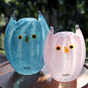 A daily dose of hoot cute - Art Glass