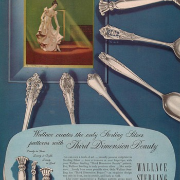 1950 Wallace Sterling Advertisements 1