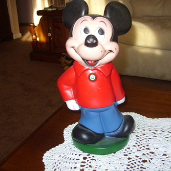 vintage micky mouse bank