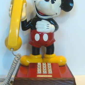 Mickey Telephone - Telephones