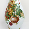 Baccarat Opaline Vase with Spring Flowers