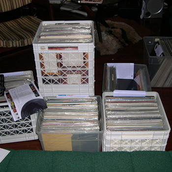 NEW PURCHASE HUGE RECORD COLLECTION JAZZ BLUES - Records