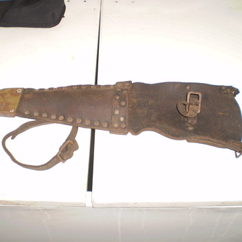 butchers scabbard/ pouch