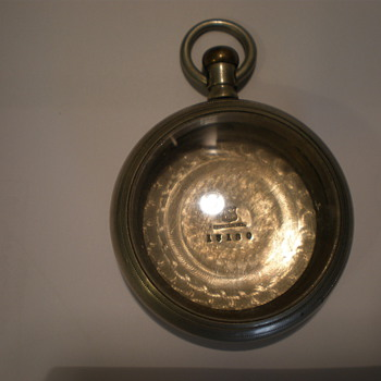 A.W. Co. case   Patt App 1779 - Pocket Watches