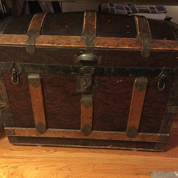 Old trunk from grandma