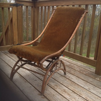 Small rocker chair