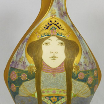 The Princess by Amphora - Art Pottery