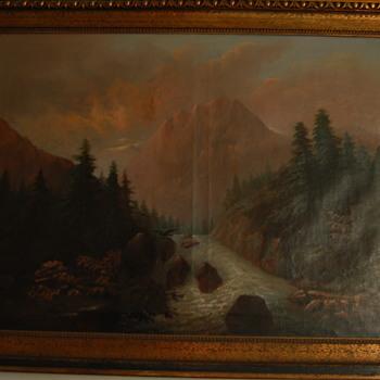 Petrovics painting - Visual Art