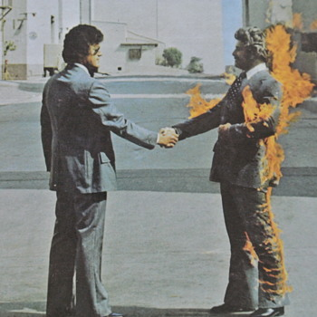 Pink Floyd,Wish You Were Here, LP Columbia Records 1975