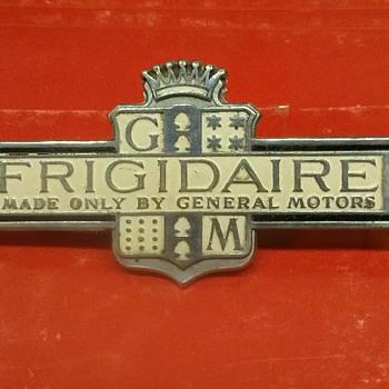 Vintage Frigidaire emblem mid 1930's